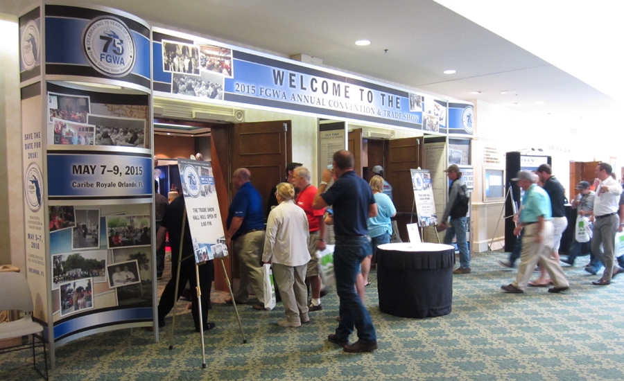 Tradeshow entrance