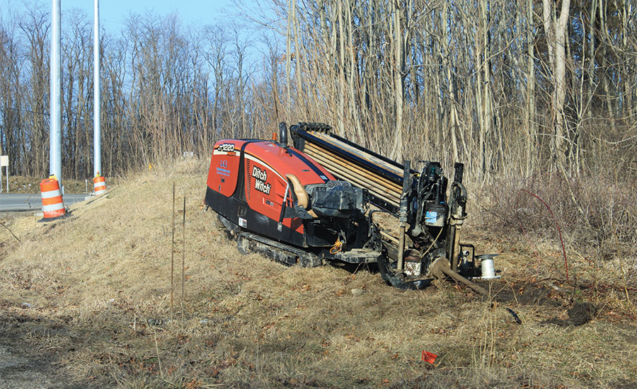 Ditch Witch JT1220 HDD rig