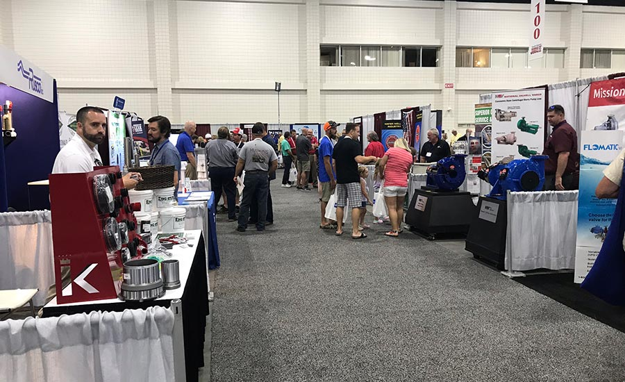 exhibit hall at South Atlantic Jubilee