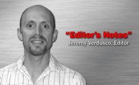 Jeremy Verdusco, Editor