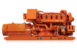 Natural Gas Rich burn Engine