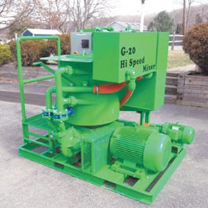 A colloidal mixer for geothermal applications.