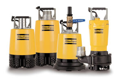 Atlas Copco introduced a new lineup of WEDA pumps designed for compact, portable use.