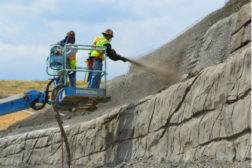 Hayward Baker soil nailing wall