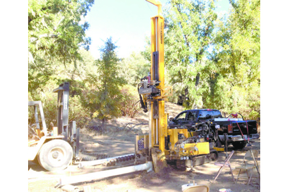 Like a lot of rigs, Hammer Drilling Rigsâ?? K60 can work a variety of drilling jobs, depending on the subsurface conditions and operator and client needs