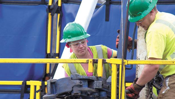 Penn College Gas Drilling Simulator Helps Train Roughnecks   2014-05