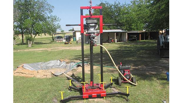 Texas man builds low cost well drill rigs for ministry s