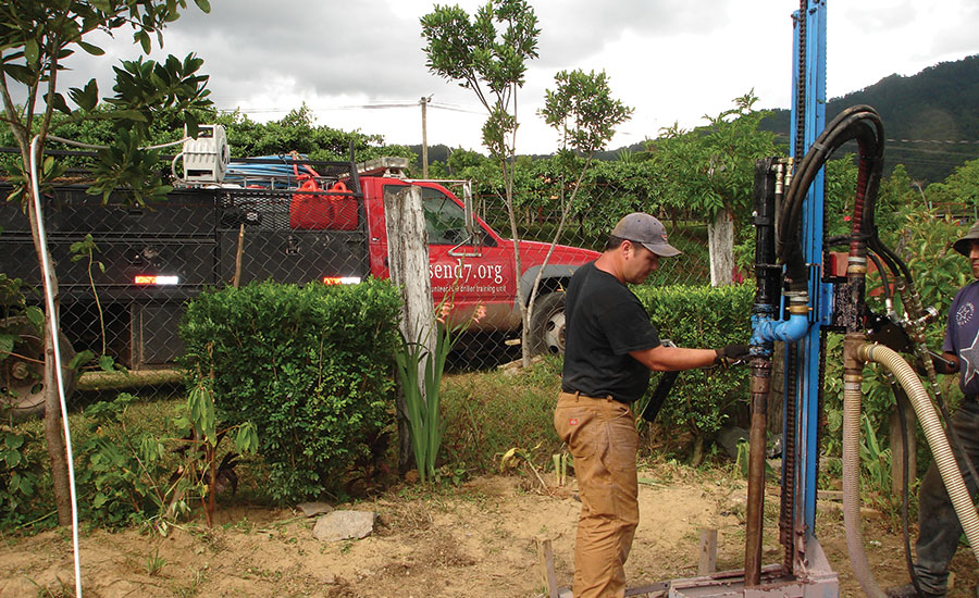 Maintenance extends life of compact water well drilling