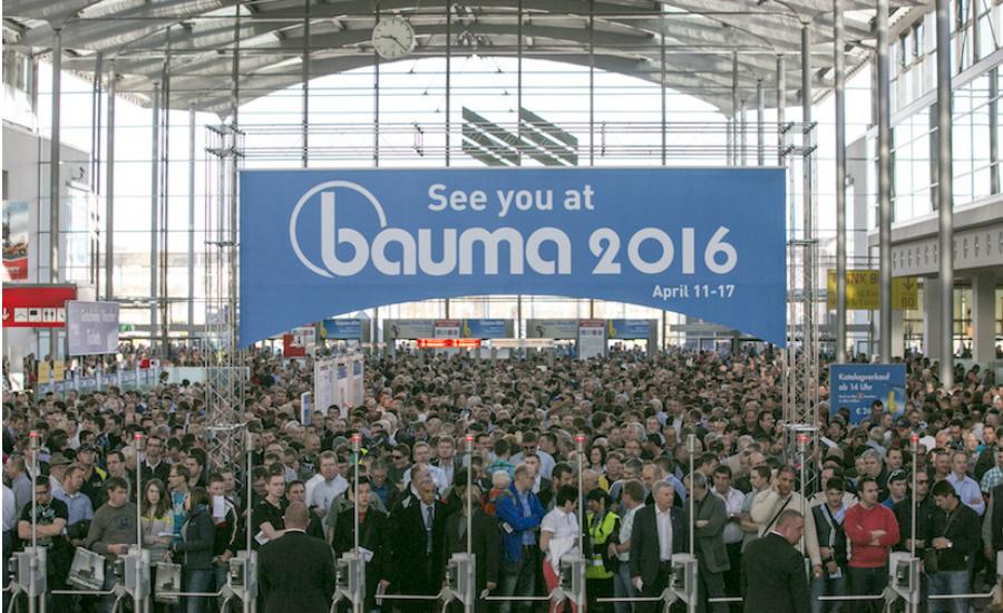 bauma 2016 registration open for attendees 2015 11 30 national driller. Black Bedroom Furniture Sets. Home Design Ideas