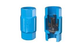 80DI VFD patented submersible pump check valve
