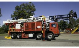 Schramm Fury drilling rig