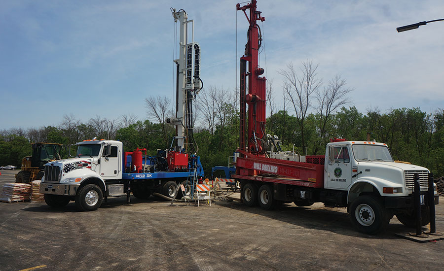 well drilling site