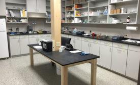 Cotey Chemical lab