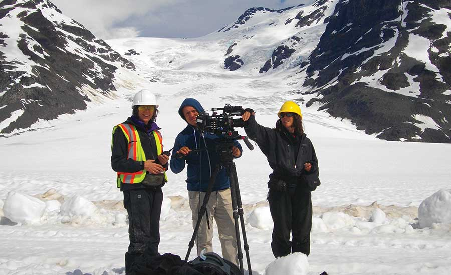 film crew from Canada Wild Productions