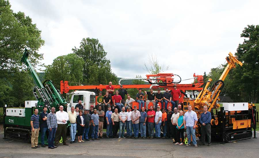 staff of Acker Drill Co.