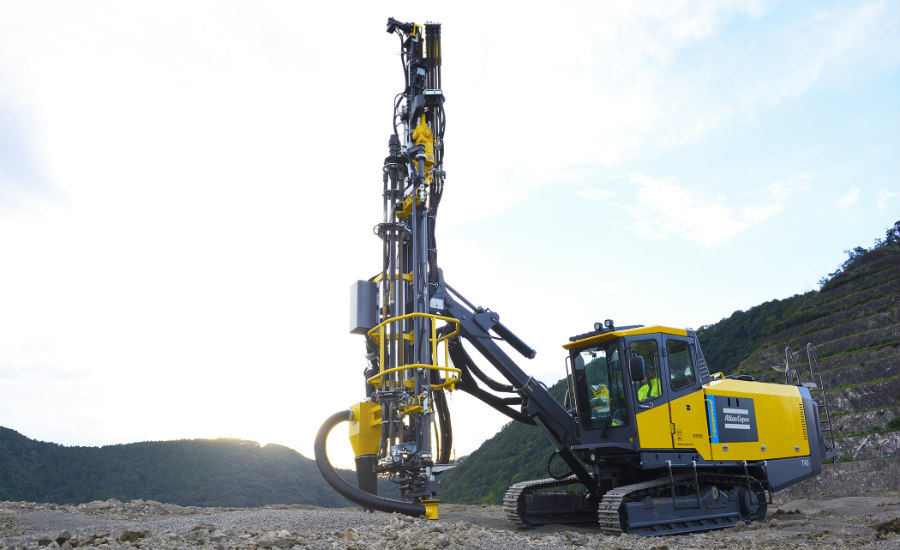 New Powerroc Quarrying Rig Saves On Fuel Consumption