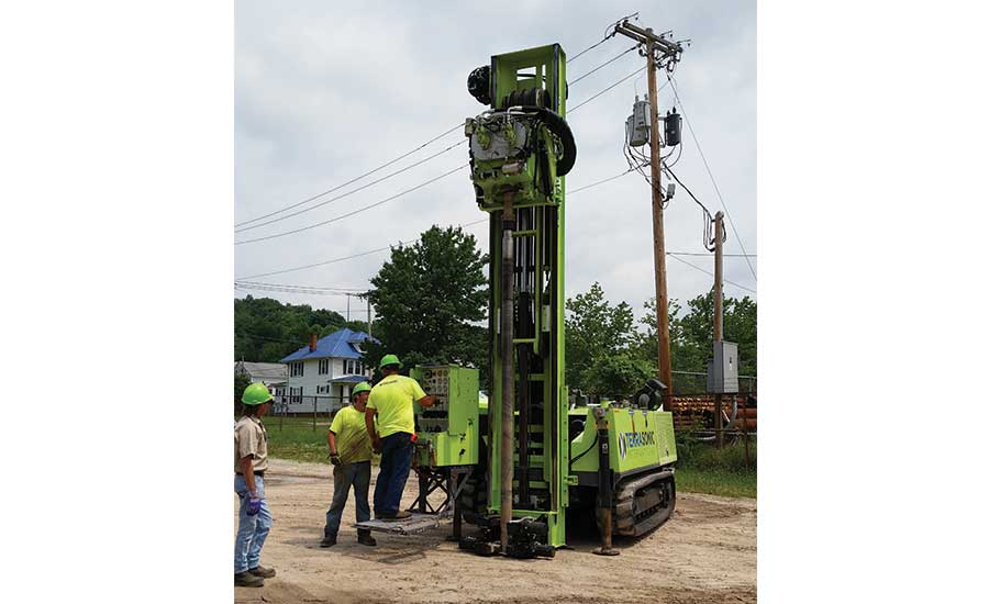 sonic drilling rig