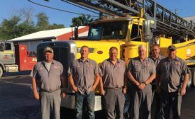 Stackhouse & Son drilling crew