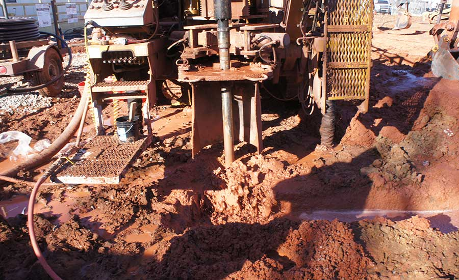 drilling a borehole