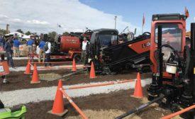heavy equipment demo at ICCUE