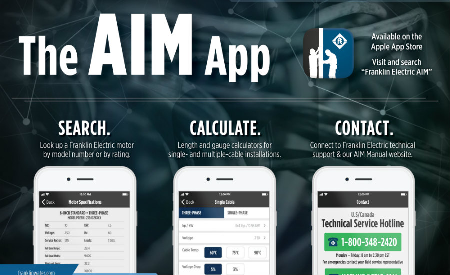 Franklin Electric AIM App