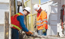 comparing DiscovOre and traditional wireline coring head