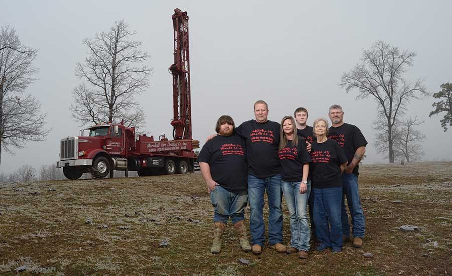 Marshall Eye Jr. Drilling Co. staff