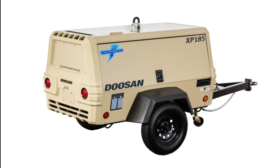 Doosan Portable Power XP185 compressor