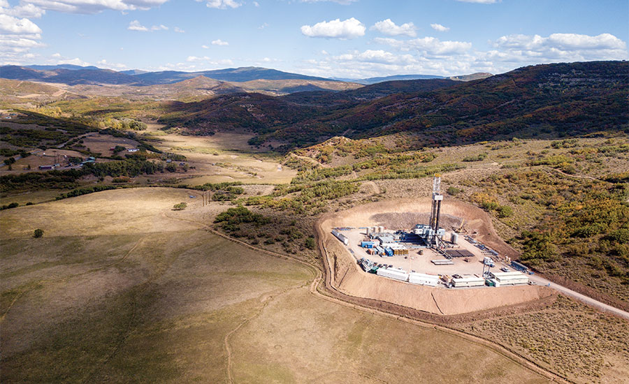 fracking in Rocky Mountains