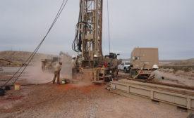 drilling jobsite