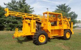 CME-750X Rubber-Tired ATV Drill
