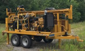 RockBuster RBI-200 Water Well Drilling Rig