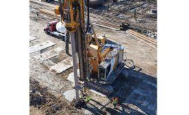 Bauer BG 36 H drilling rig