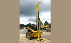 Hammer Drilling Rigs K1 Drill Mast