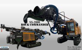Soosan America SS-2000 DTH Drill Rig