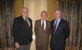 DFI Educational Trust Garland E. Likins, left, George G. Goble and Frank Rausche