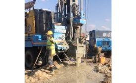 drilling in Tanzania