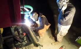 drilling job