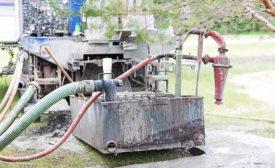 water well installation