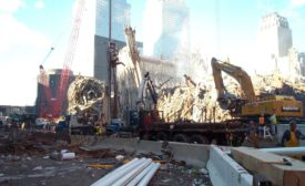 Ziegenfuss Drilling Inc. working at Ground Zero