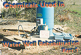 Chemicals Used in Water Well Rehabilitation -- Part 1 | 2002-05-01