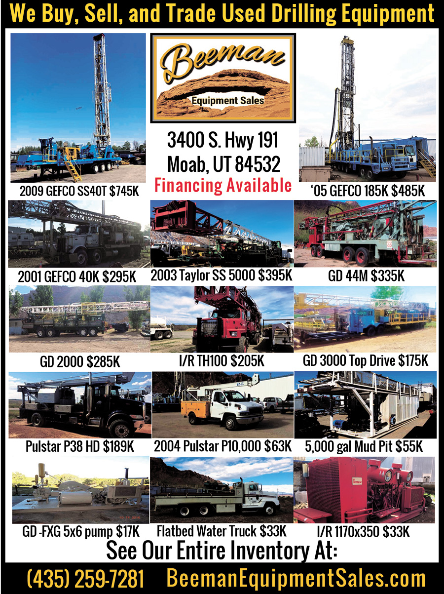 WE BUY, SELL, and TRADE USED DRILLING EQUIPMENT