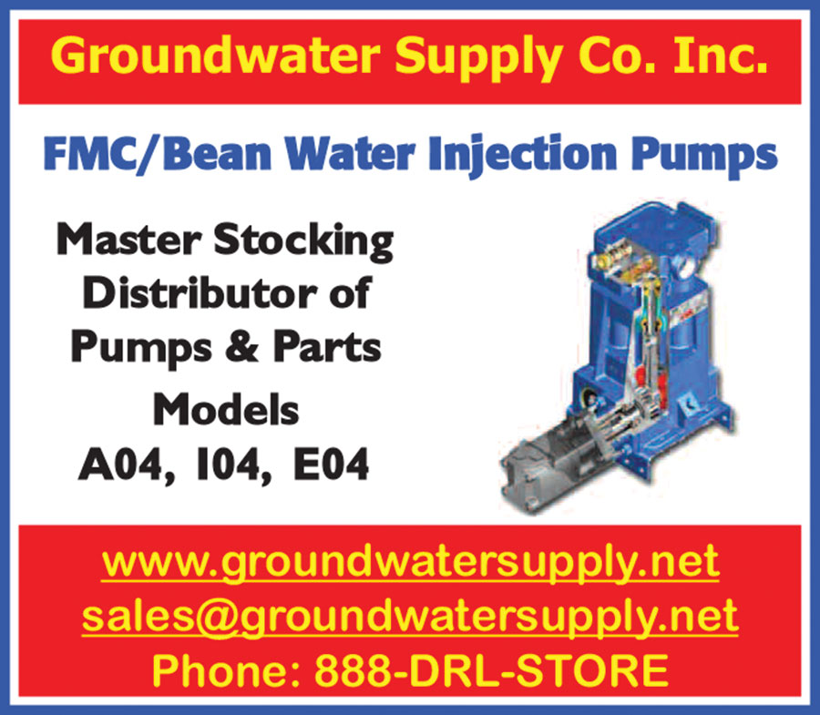 FMC/BEAN WATER INJECTION PUMPS