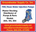 FMC/BEAN WATER INJECTION PUMPS