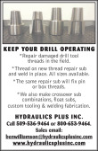 COMPLETE REPAIR AND MANUFACTURING OF DRILLING TOOLS AND EQUIPMENT