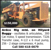 ARDCO RIG MTD. ON HILYARD BUGGY