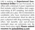 EXPERIENCED GEOTECHNICAL DRILLER - PENSACOLA, FL