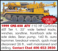 1999 CME-850 ATV AUGER RIG
