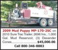 2009 MUD PUPPY MP-170-2SC
