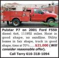 PULSTAR P7 ON 2001 FORD F550